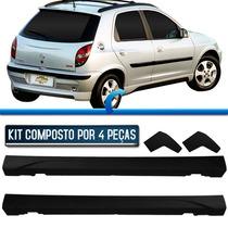 Kit Spoiler Celta 4p E Prisma 03 - 12 Original Gm Novo
