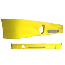 Spoiler Traseiro Gol Bola 95/99 Modelo Flat C/ Tela Aluminio