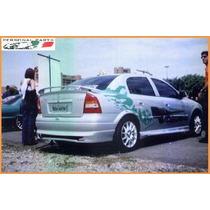 Spoiler Traseiro Do Astra Sedan 98/02 Fibra Sem Pintura