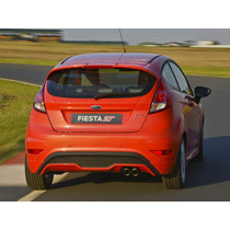 Kit Fiesta St Aerofolio Parachoque E Escapamento Top