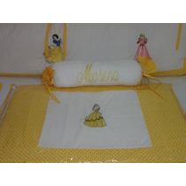 Kit Berço Personalizados 10 Pçs Princesas Disney