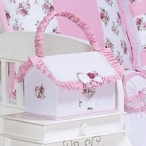 Farmacinha Para Quarto De Bebê Menina Coleção Flower Rosa Hb