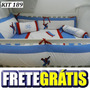 Kit Berço Personalizado 10pç Homem Aranha Azul Com Vermelho