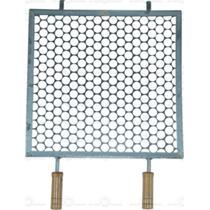 Grelha Quadrada Para Churrasqueira 40x40cm