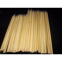 Espeto Espetinho De Bambu P/ Churrasco 28 Cm Saco 1000 Unid