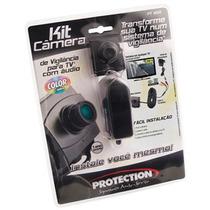 Kit Câmera De Vigilância Para Tv Protection