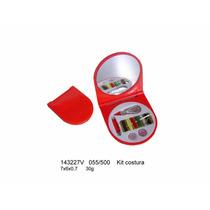 Kit 10 Unidades Espelho De Bolsa Com Kit Costura
