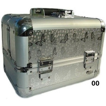 Maleta P/ Maquiagens E Cosméticos Rubys Fs-1160f Cor: Prata
