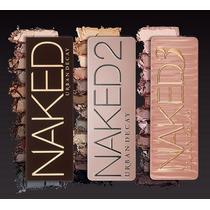 Paleta De Sombras Naked 1 + 2 + 3 - Pronta Entrega - Promo