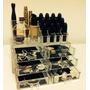Porta Maquiagem Pincel Batom Acrílico Organizador 6 Gavetas