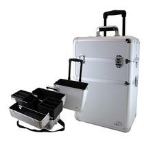 Maleta Frasqueira Aluminio Jacki Design 14067 - Maquiagem