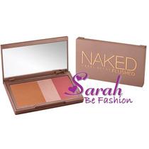 Paleta Naked Flushed Importada Bronzer Iluminador Blush