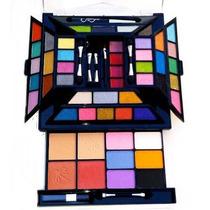Kit Maquiagem Com Sombra 3d E Fosca Jasmyne V235 - P Entrega