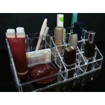 Organizador Em Acrílico Porta Batom/maquiagem 16 Divisórias
