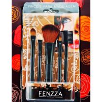 Kit 5 Pinceis Make Up