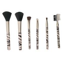 Kit Pincéis 7 Pçs Face Maquiagem Pro Estojo Mundial Bc-611