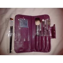 Kit Com 4 Pincéis Maquiagem Proart + 2 Chanfrados Brinde