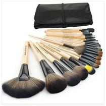 Pincel Makeup 24 Peças Cerdas Naturais- Aproveite !!!