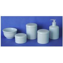 Kit De Higiene Para Bebê - Porcelana Branca - 5 Peças