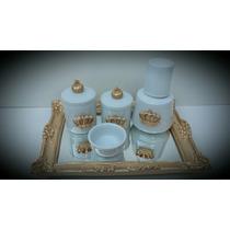 Kit Bebe Higiene Em Porcelana
