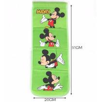 Porta Treco/organizador Mickey Com 3 Divisórias