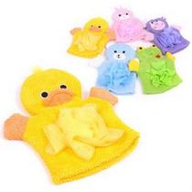 Luva De Banho Esponja Esponjinha Para Bebê