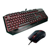 Kit Teclado Mouse Storm Devastator Cooler Master Gamer Red