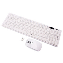 Kit Teclado + Mouse Wireless S/ Fio 2.4ghz Smart Tv Pc Note