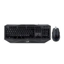 Genius Teclado E Mouse Gx Gaming 2000dpi Usb Km-g230 Preto