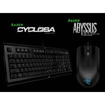 Kit Razer Teclado Cyclosa + Mouse Abyssus Importado