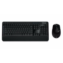 Kit Microsoft Teclado E Mouse Wifi Desktop 3000 Nota Fiscal