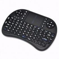 Mini Teclado Sem Fio C/ Touchpad Para Pc, Not, Ps3, Xbox360