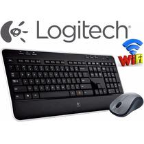 Logitech Wireless Combo Mk520 - Kit Teclado + Mouse Sem Fio
