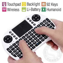 Mini Teclado S/ Fio Universal Wifi 2.4ghz Touchpad C/bateria
