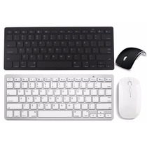 Kit Teclado Bluetooth E Mouse 1600dp Wireless Sem Fio 2.4ghz