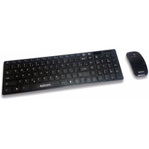 Kit Teclado + Mouse Wireless Slim Sem Fio 2.4ghz 10 Metros