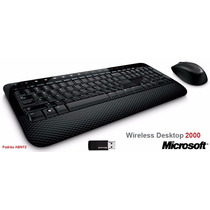 Teclado E Mouse Microsoft Wireless Desktop 2000