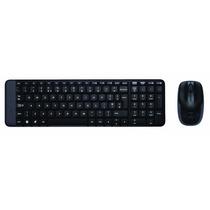 Logitech Wireless Combo Mk220 - Teclado + Mouse S/ Fio