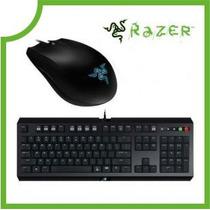 Combo Razer Teclado Gamer Cyclosa + Abyssus 1800dpi C/ Nfe