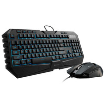 Kit Octane Teclado Usb + Mouse Gamer 3500dpi Cooler Master