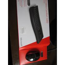 Kit Teclado + Mouse Microsoft Comfort Desktop 5000 Wireless