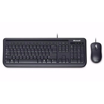 Kit Microsoft Teclado + Mouse Usb Wired Desktop 400