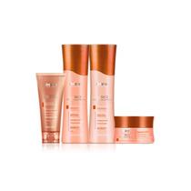 Kit Amend Liso Sem Química Shampoo + Cond.+ Másc. + Leave-in