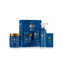 Amend Kit Escova Definitiva Gold Black Definitive Liss -novo