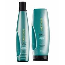 Kit Aneethun Slym System -shampoo E Máscara Anti Volume