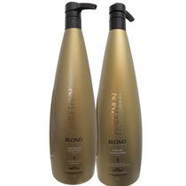 Aneethun Blond System 1l Shampoo + Mascara - Profissional