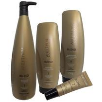 Aneethun Blond System - Kit Cabelos Loiros Ou Grisalhos