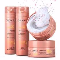 Cadiveu Hair Remedy Hidratação Shampoo Condicionador Máscara