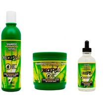 Kit Crecepelo Mascara + Shampoo + Gotero Crecepelo