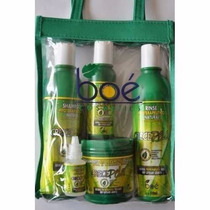 Crece Pelo Boé Com Bolsa Original Kit 5 Itens Pronto Envio